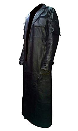 The Punisher Trench Leather Coat
