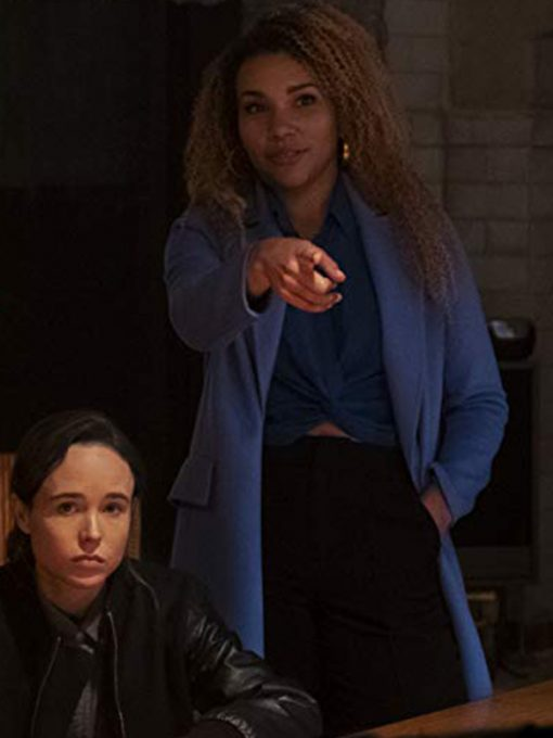 Allison The Umbrella Academy Blue Coat