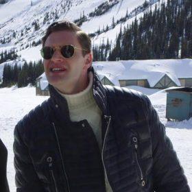 Cold Pursuit Tom Bateman Black Jacket