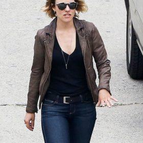 Ani Bezzerides True Detective Leather Jacket