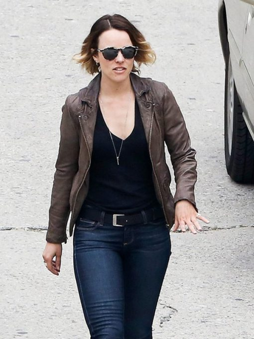 Ani Bezzerides True Detective Leather Jacket