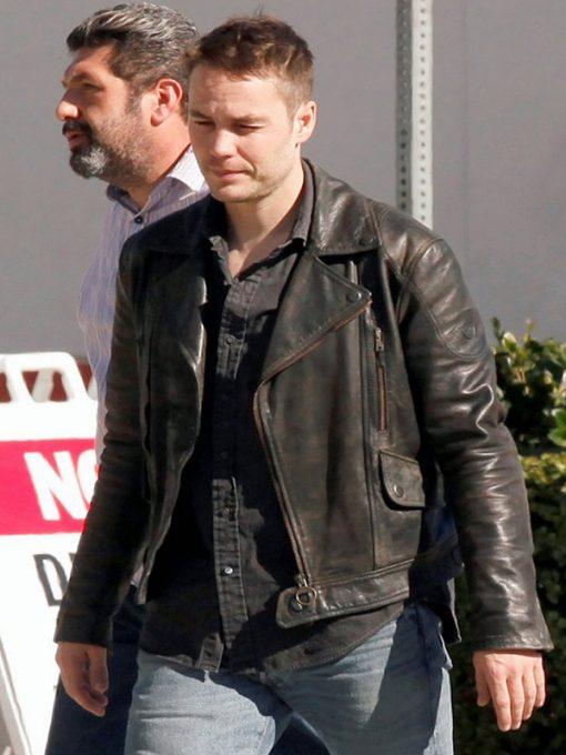 Taylor Kitsch True Detective Black Jacket