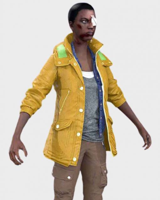 Dead Rising 4 Deluxe Edition Video Game Yellow Leather Jacket