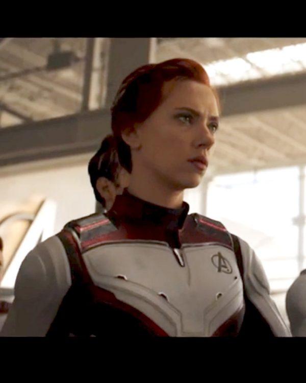 Avengers Endgame Black Widow Quantum Jacket
