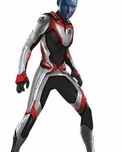 Avengers Endgame Nebula Quantum Jacket