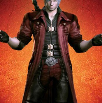 Devil May Cry 4 Dante Red Trench Coat