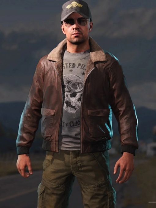 Far Cry 5 Video Game Brown Bomber Jacket