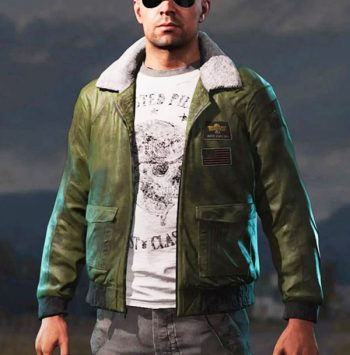 Far Cry 5 Video Game Green Bomber Jacket