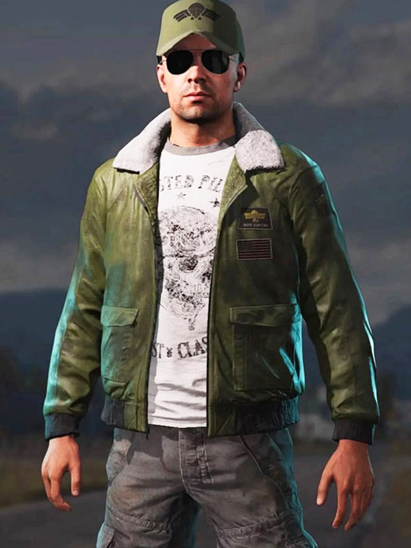 Far Cry 5 Video Game Green Bomber Jacket Danezon