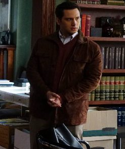 Asher Millstone How To Get Away With Murder Suede Brown Jacket
