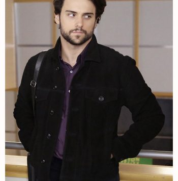 Connor Walsh How To Get Away With Murder Black Jacket