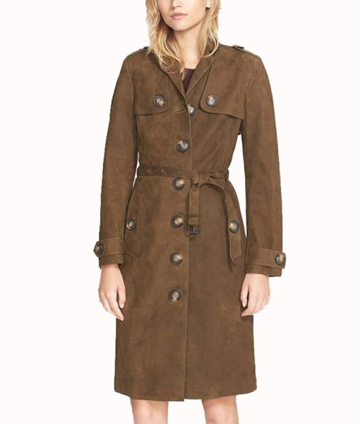 How to Get Away With Murder Laurel Castillo Brown Coat