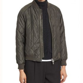 How to Get Away With Murder Laurel Castillo Quilted Jacket