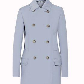 Michaela Pratt Double Breasted Wool Coat