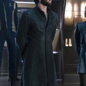 Spock Star Trek Discovery Trench Coat