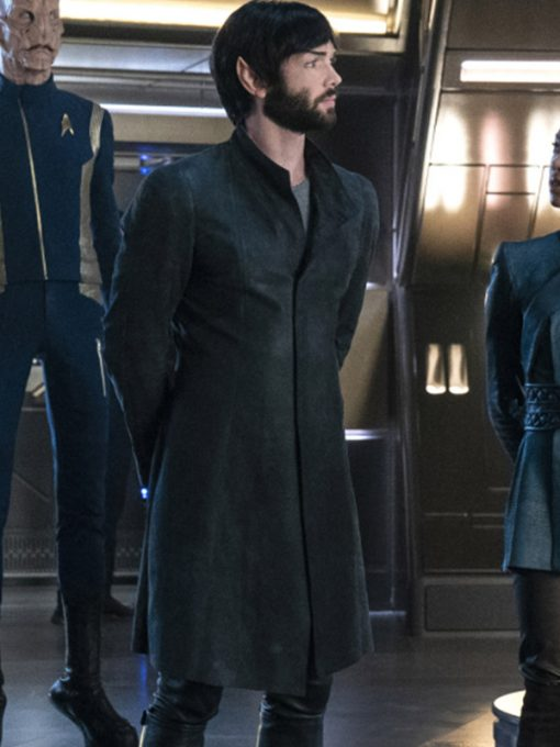 Spock Star Trek Discovery Trench Coat