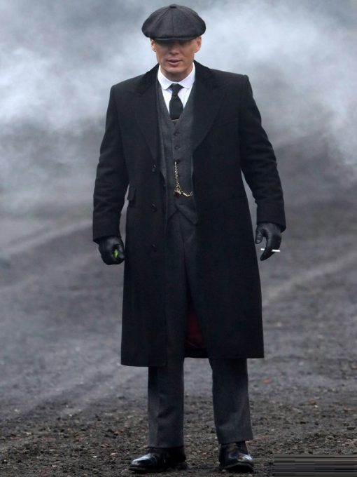 Thomas Shelby Peaky Blinders Trench Coat