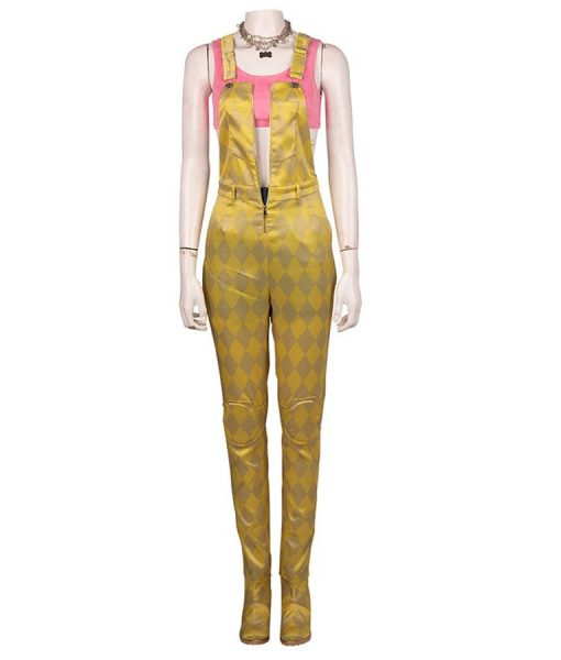 Harley Quinn Gold Overalls