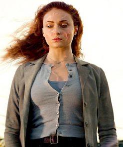 Dark Phoenix Jean Grey Trench Cotton Coat
