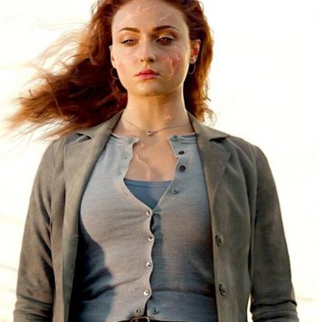 Dark Phoenix Jean Grey Trench Cotton Coat