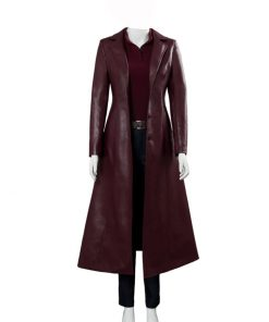 Jean Grey Dark Phoenix Trench Coat