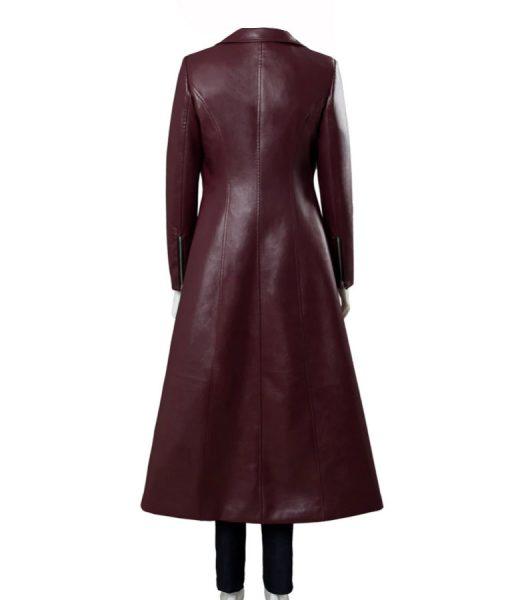 Jean Grey X-Men Dark Phoenix Leather Coat