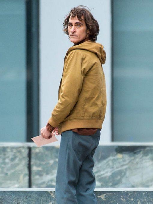 Joker Joaquin Phoenix Brown Cotton Jacket