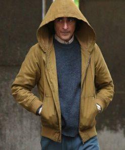Joker Joaquin Phoenix Brown Hooded Jacket