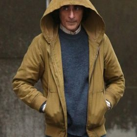 Joker Joaquin Phoenix Brown Hooded Jacket