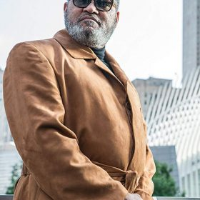 Laurence Fishburne John Wick 3 Brown Coat