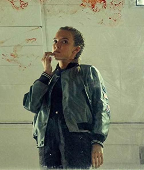 Villanelle Killing Eve Jodie Comer Satin Bomber Jacket