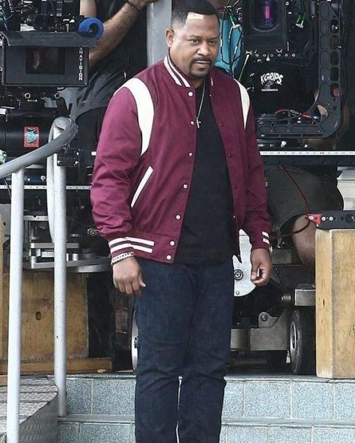 Bad Boys for Life Detective Marcus Burnett Maroon Jacket
