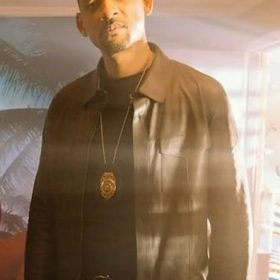 Bad Boy 3 Detective Mike Lowrey Brown Jacket