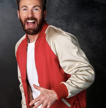 Chris Evans Endgame Premiere Jacket
