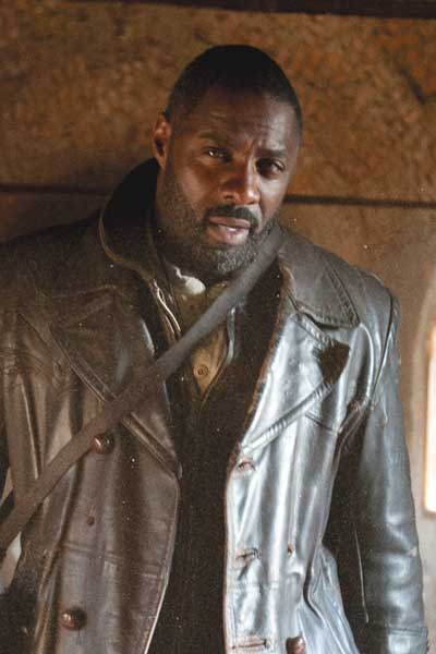 Ghost Rider Idris Elba Brown Trench Coat