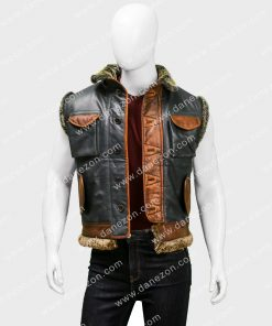 The Next Level Dwayne Johnson Brown Vest