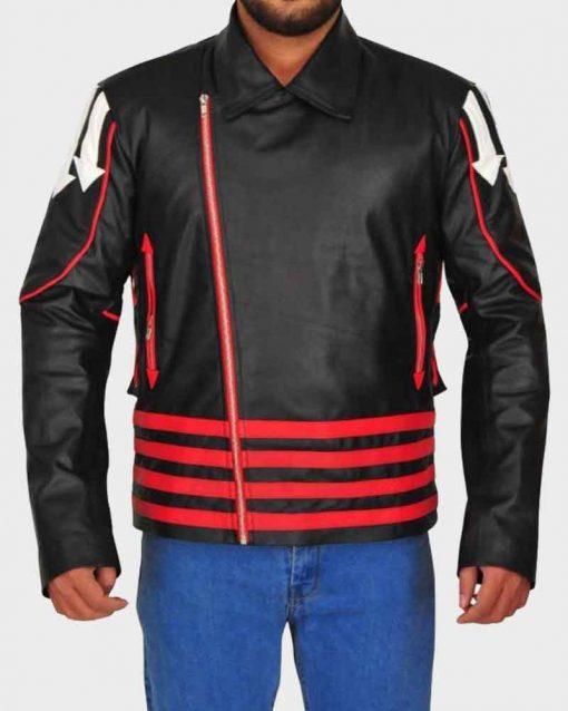 Black Motorcycle British Singer Freddie Mercury Leather Jacket