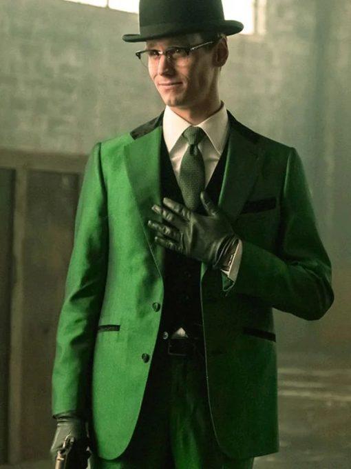 The Riddler Gotham Green Blazer