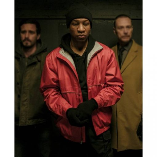 Captive State Rafe Drummond Red Jacket
