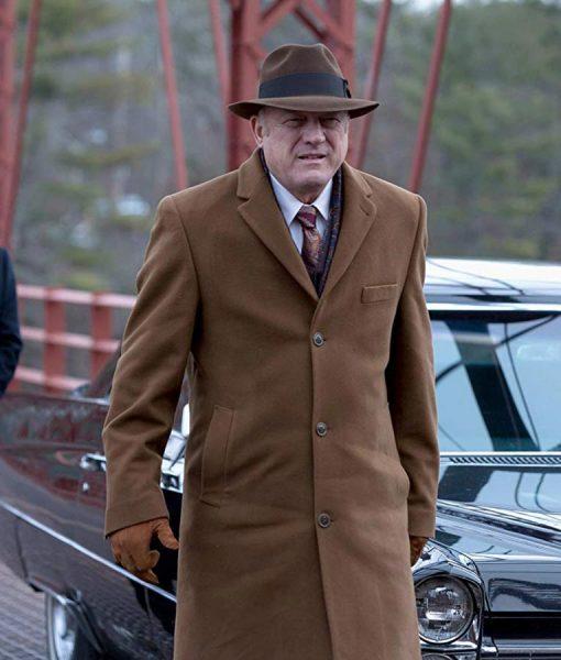 Carmine Falcone Gotham Brown Long Coat