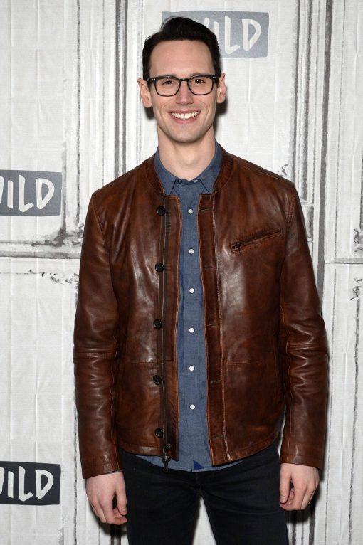Edward Nygma Gotham Brown Jacket