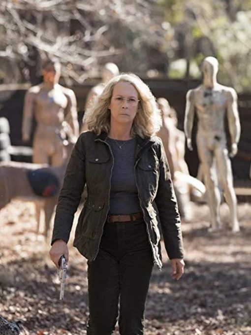 Laurie Strode Halloween Green Jacket