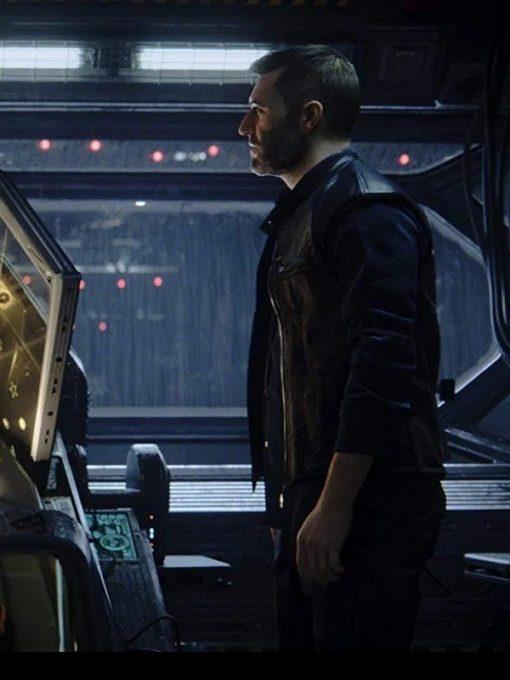 Thom Love Death And Robots Black Vest