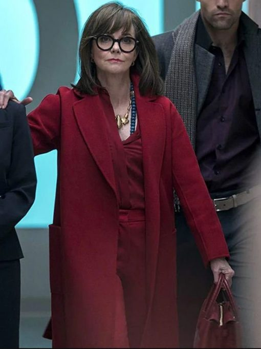 Dr Greta Mantleray Maniac Red Trench Coat
