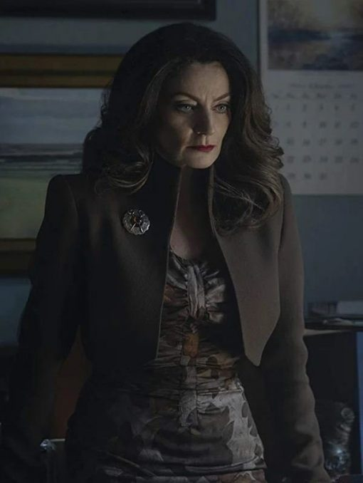 Chilling Adventures of Sabrina Mary Wardwell Brown Jacket