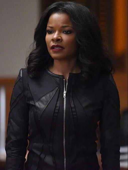 Lethal Weapon Trish Murtaugh Black Jacket