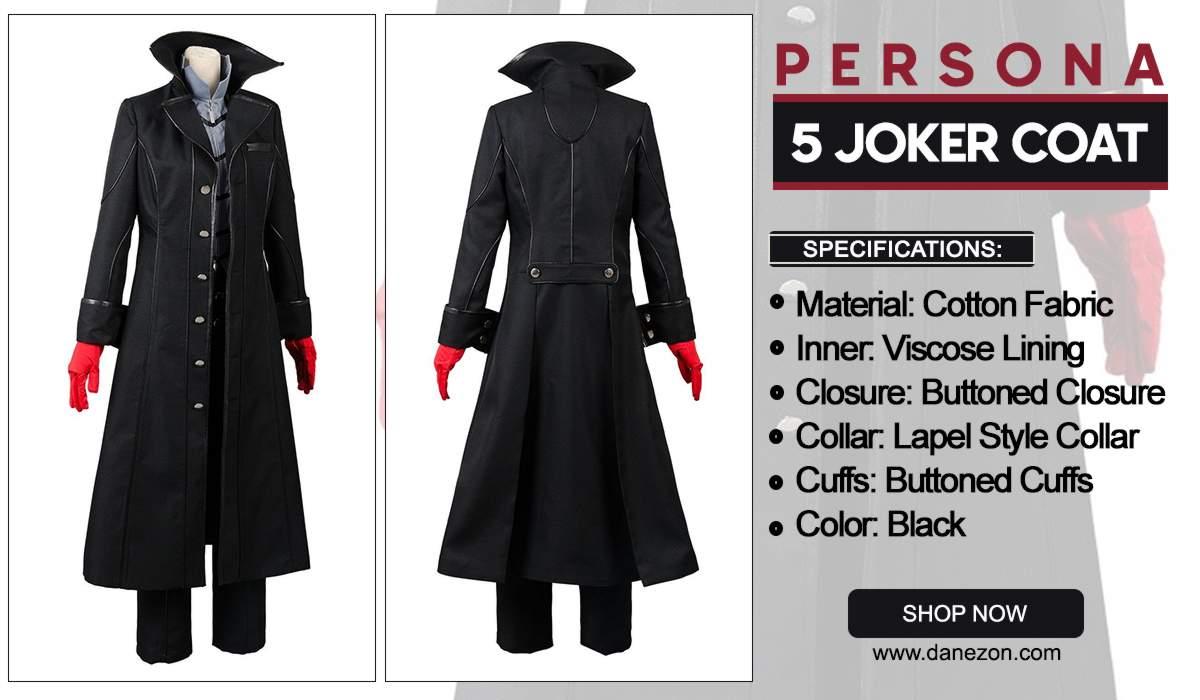 Persona 5 Joker Coat