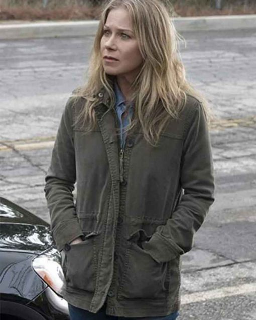 Dead to Me Christina Applegate Cotton Jen Harding Jacket