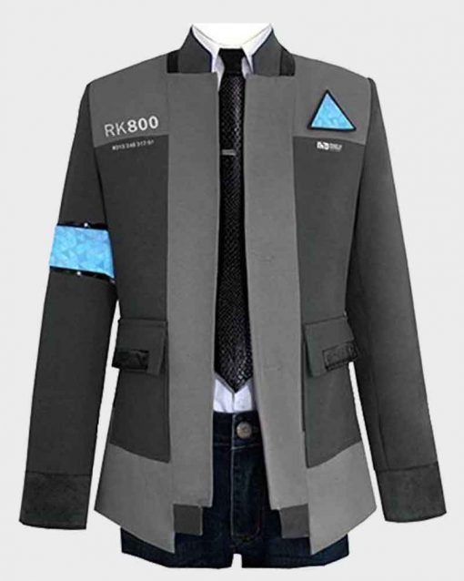 Video Game Detroit Become Human Bryan Dechart Connor Jacket