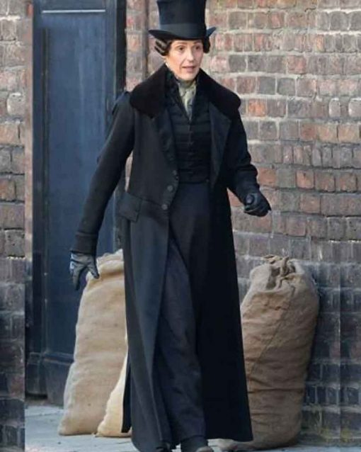 Gentleman Jack Cotton Suranne Jones Trench Anne Lister Coat